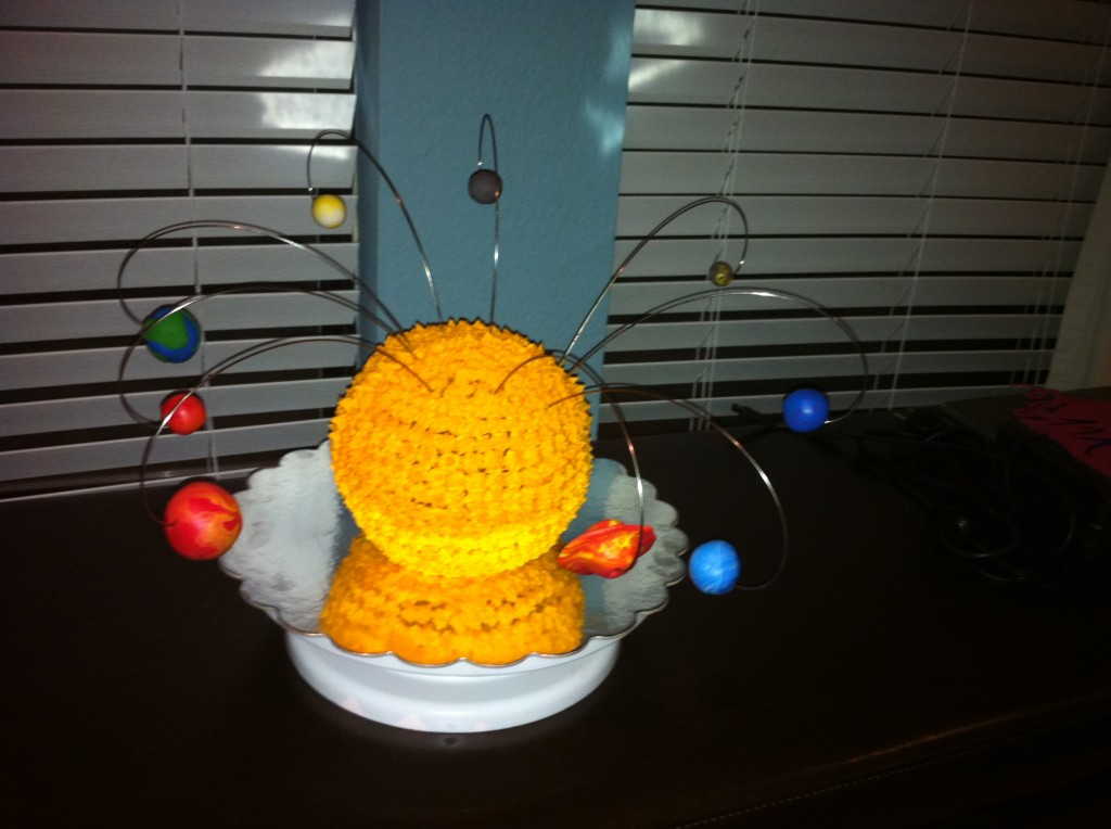 3d solar system birthday cake - photo #21